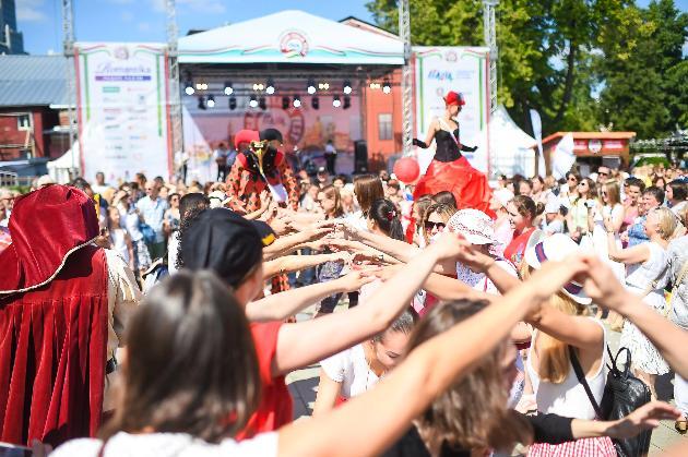 Фестиваль Италии всаду «Эрмитаж» 2019
