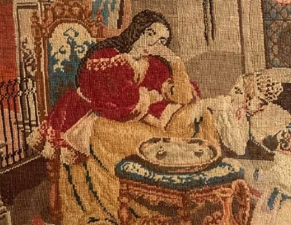 Выставка «Старинные вышивки»