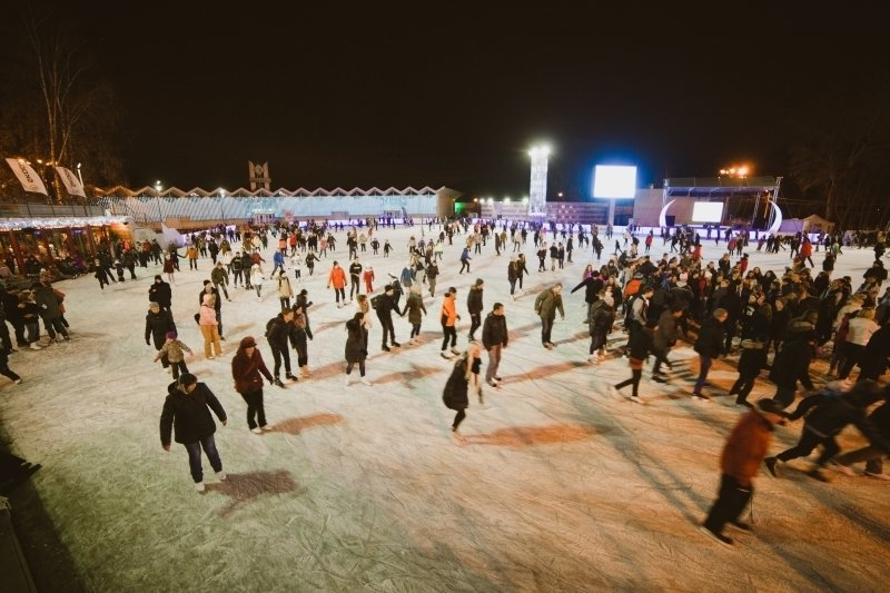 cb8ec5c6 Каток «Лед» в Парке «Сокольники» 2015