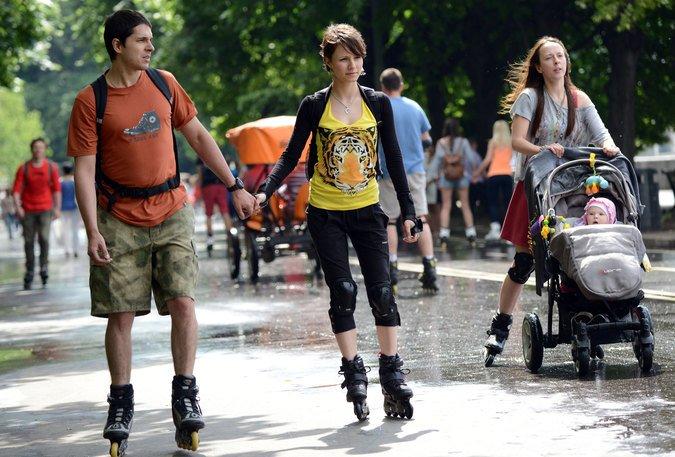 День молодежи 2015 впарках Москвы