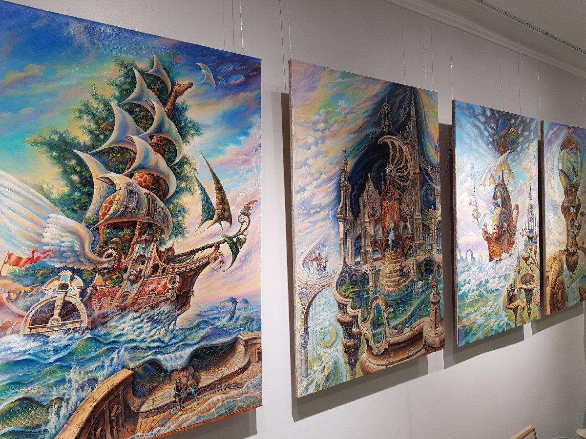 Выставка «Лукоморье вЗазеркалье»