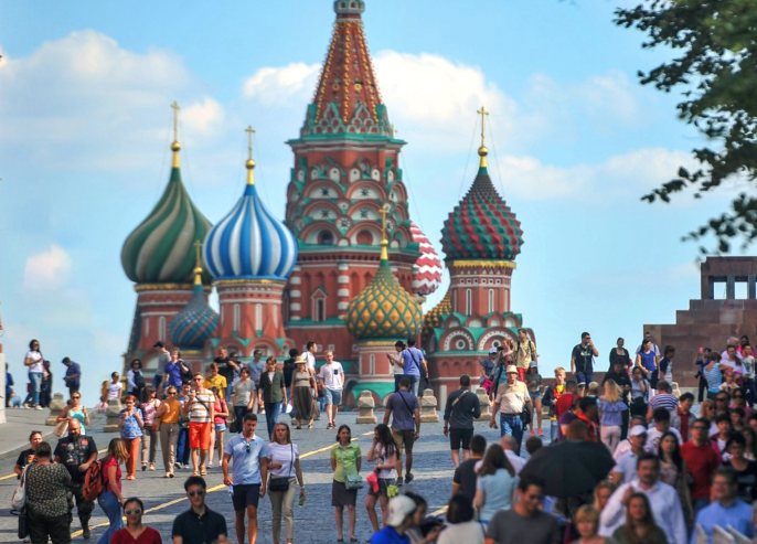 Акция «Москва— столица мирового футбола» 2018