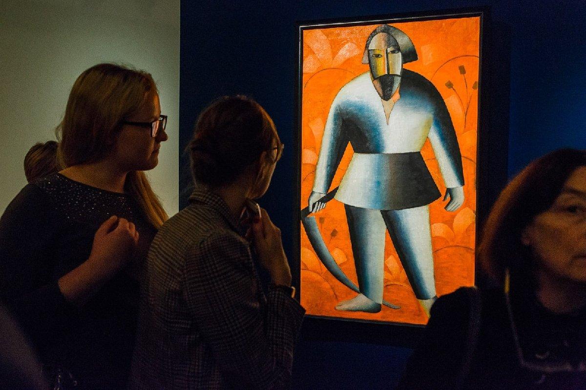 Выставка «Казимир Малевич. Нетолько «Черный квадрат»