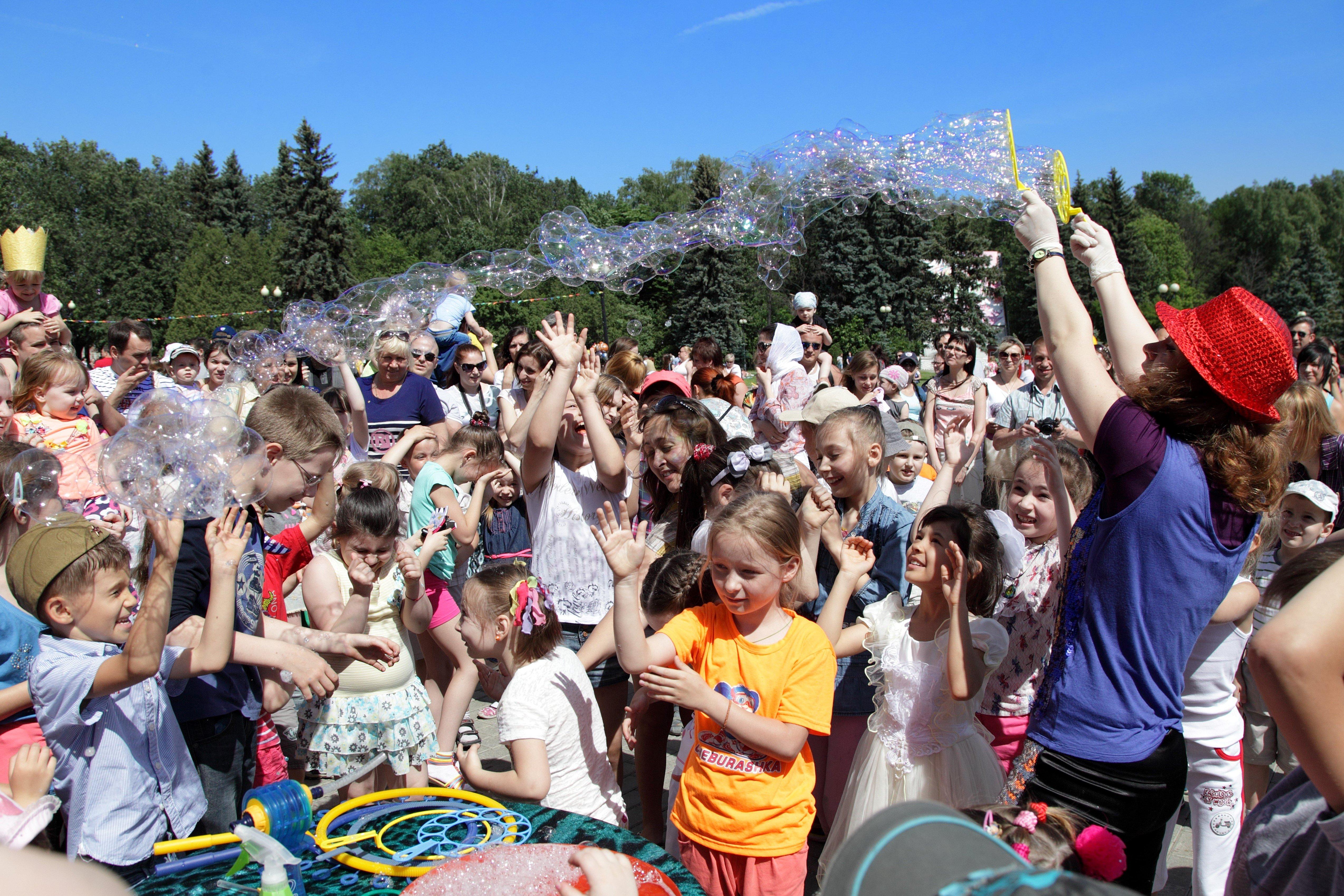 Открытие летнего сезона вИзмайловском парке 2016