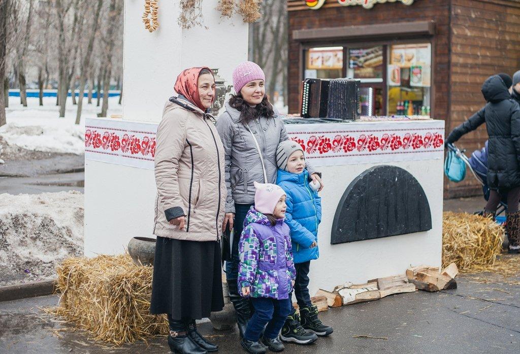Семейная Масленица вПеровском парке 2017
