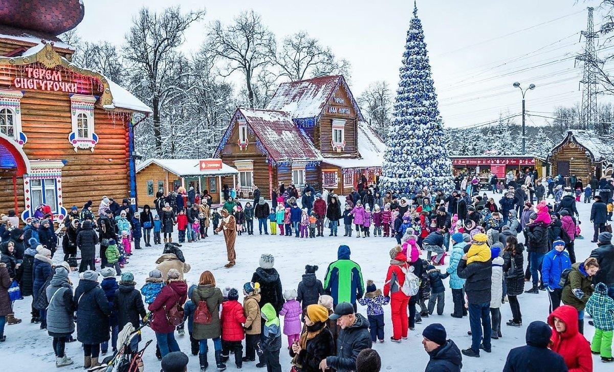 Новогодние праздники вМосковской Усадьбе Деда Мороза 2020