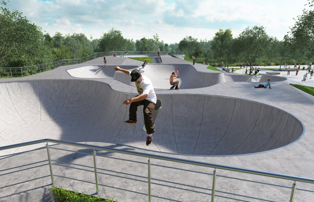 Скейт-площадки впарках Москвы 2020