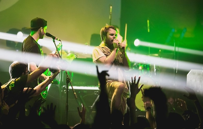 Концерт группы Enter Shikari 2019