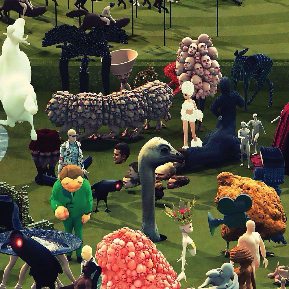 Анимационная выставка «Потолок. Придуманные миры»