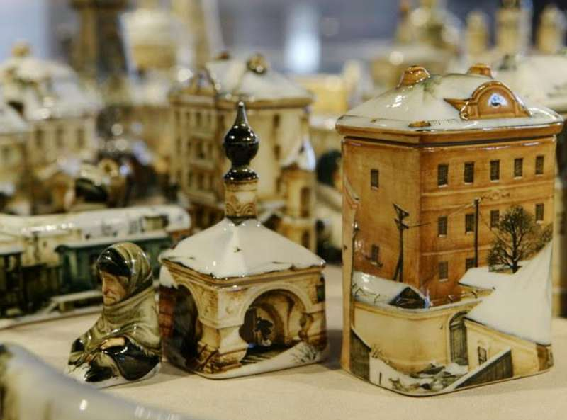 Выставка «Фарфороград»