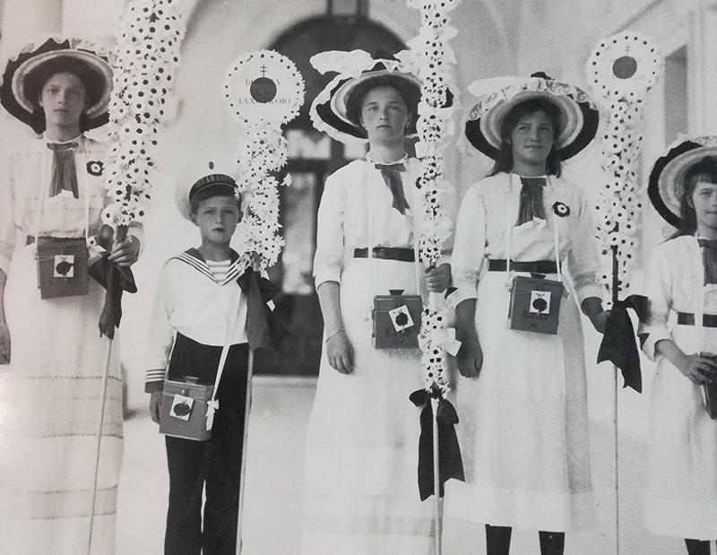 Выставка «Частная жизнь семьи императора Николая II. Фотографии изличных альбомов»