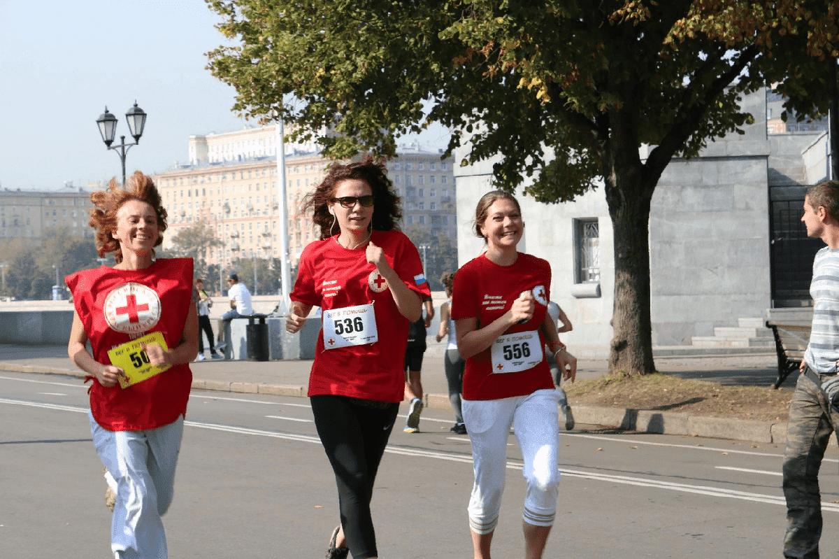Забег Красного Креста «Бежим впереди ЧС» 2021
