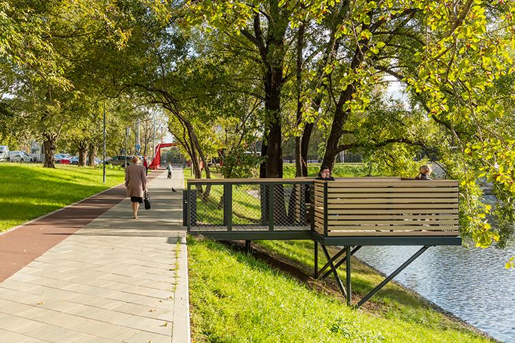 Парк «Красногвардейские пруды»