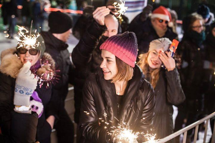 Новогодняя ночь вСаду имени Баумана 2017