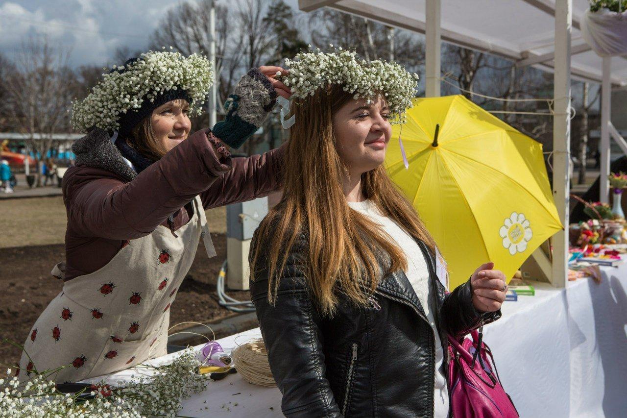 Дни благотворительности наВДНХ «Белый цветок» 2016