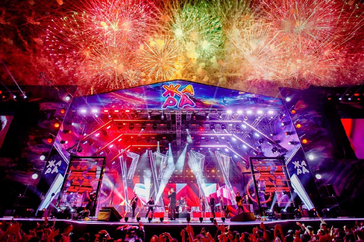 Музыкальный фестиваль «Жара» 2021