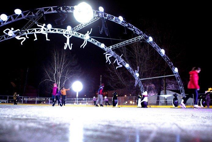 Открытие зимнего сезона вСаду «Эрмитаж» 2015
