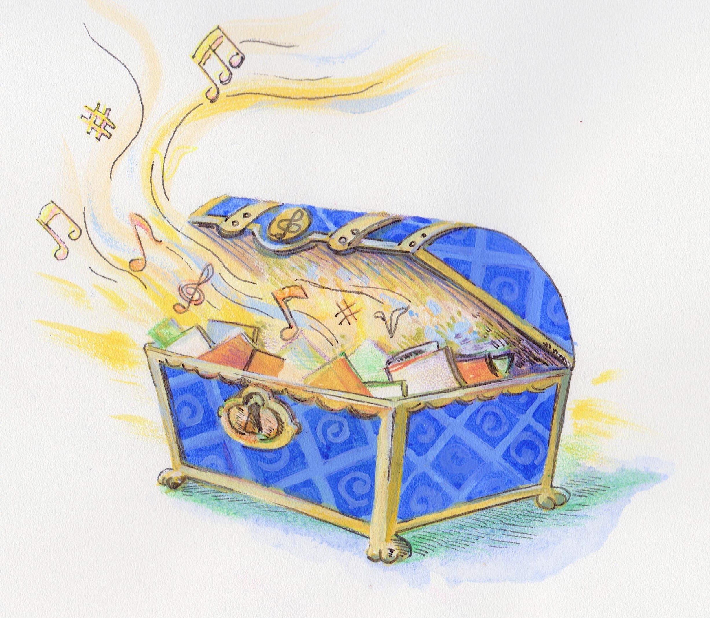 Интерактивная сказка-концерт «Нотки изкоробки»