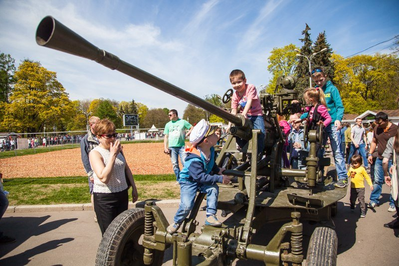 День Победы впарке «Сокольники» 2016