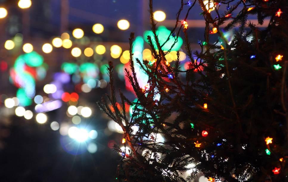 Новогодняя ночь 2016 впарках Москвы