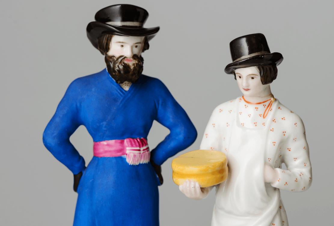 Выставка «Русская фарфоровая скульптура конца XVIII– начала XXвека»