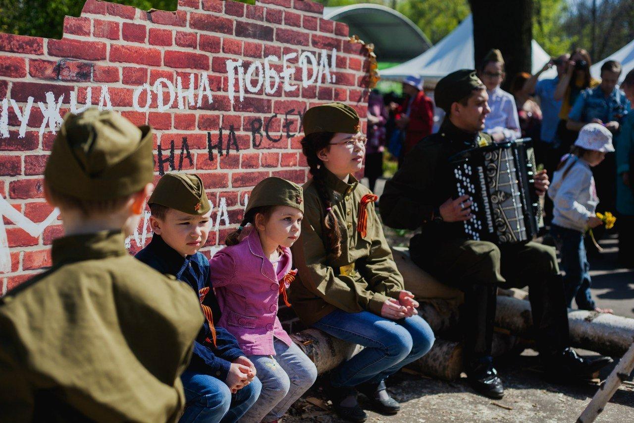 День Победы вПеровском парке 2016