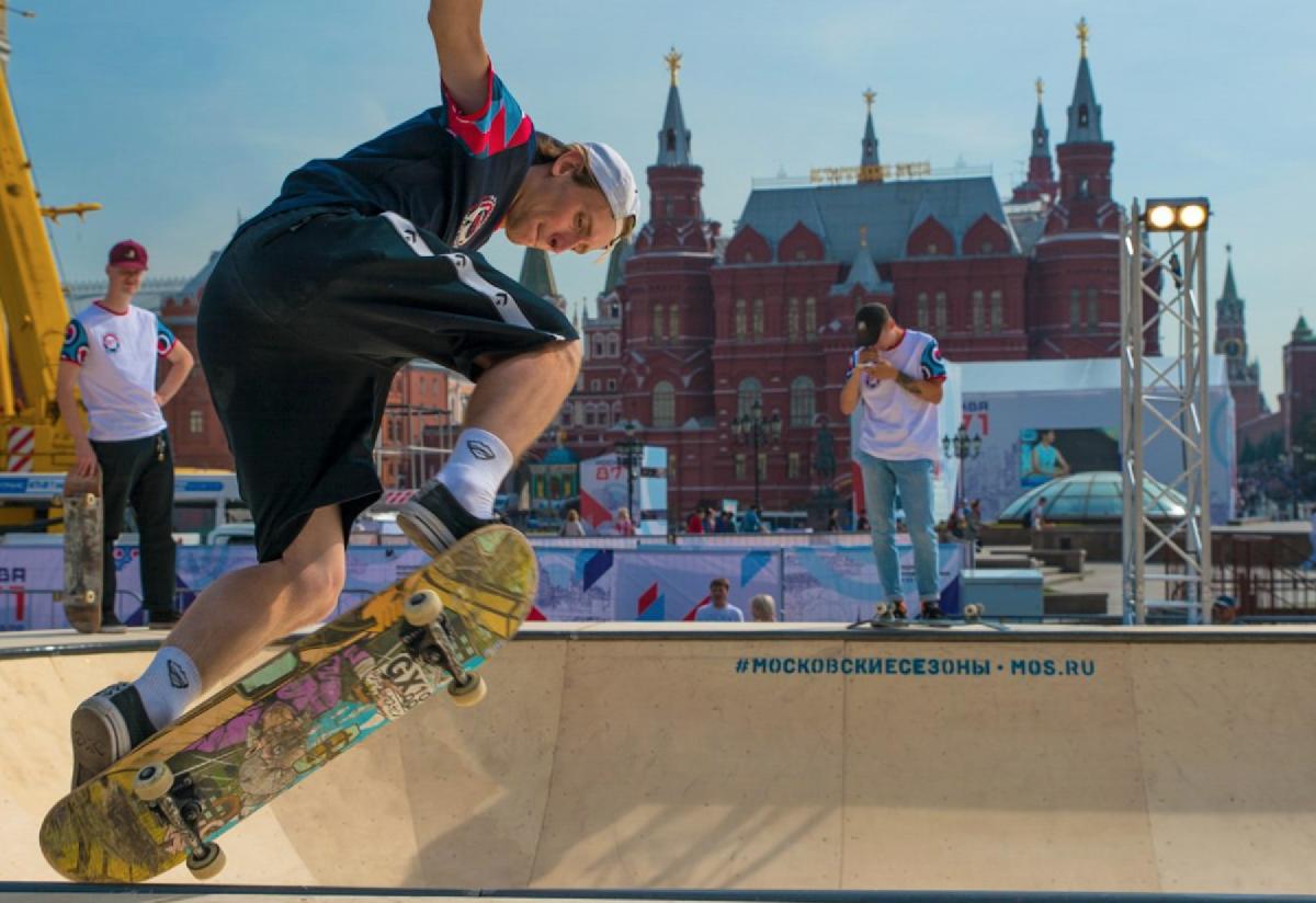 Спортивные площадки наДне города Москвы 2019