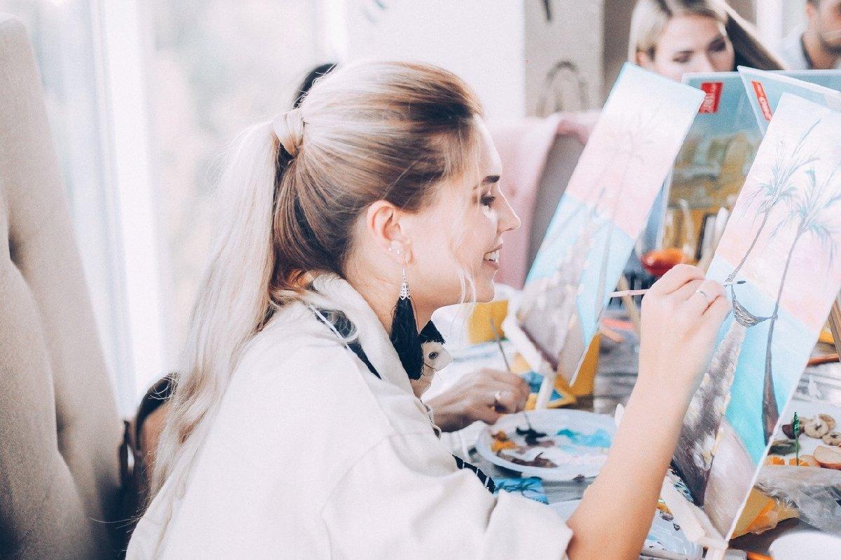 Вечеринка срисованием картин «На холсте»