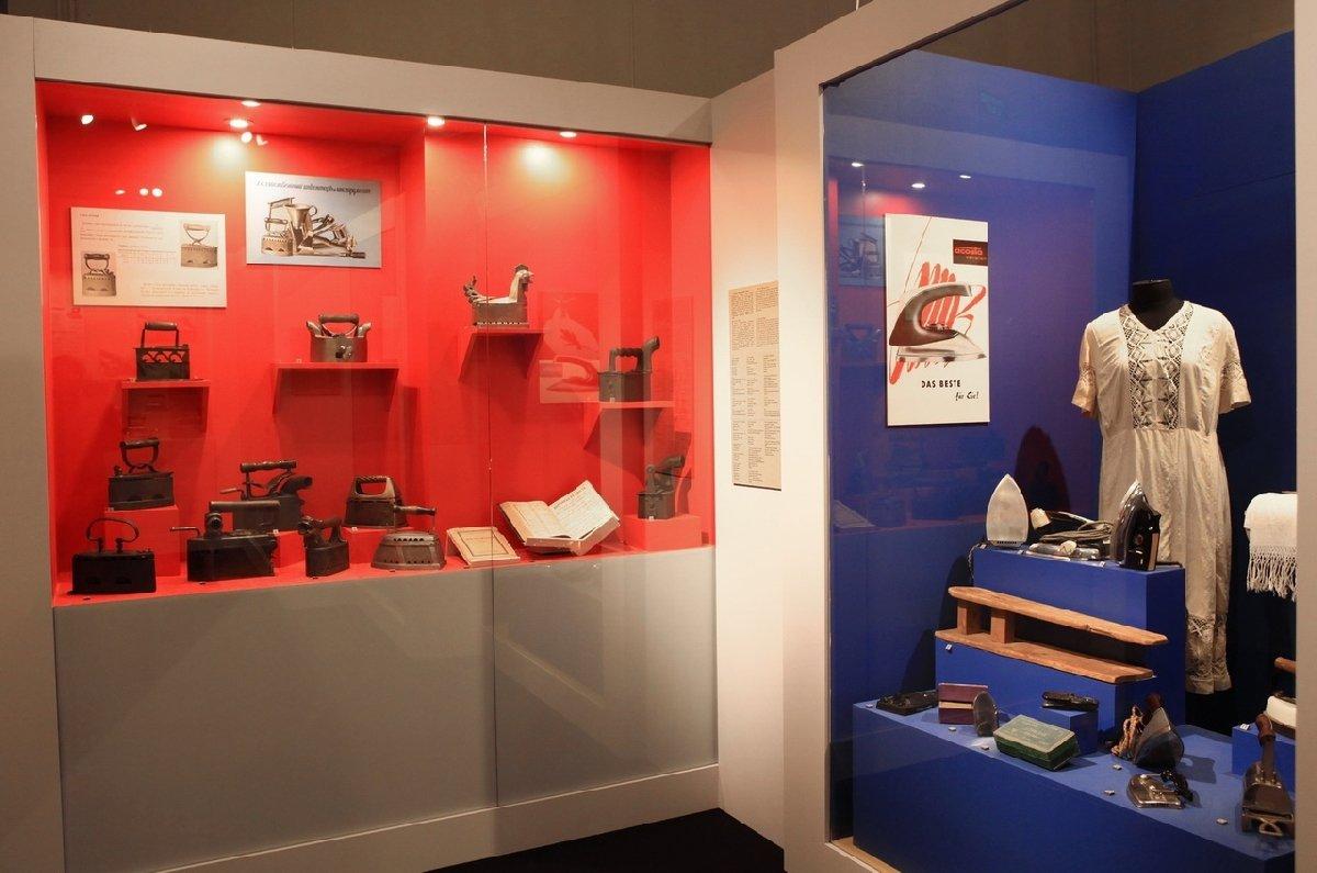 Выставка «Снаряд для глажения одежи, или обистории утюга»