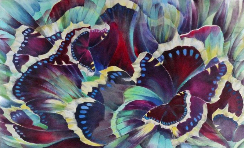 Выставка «На шелковых крыльях»