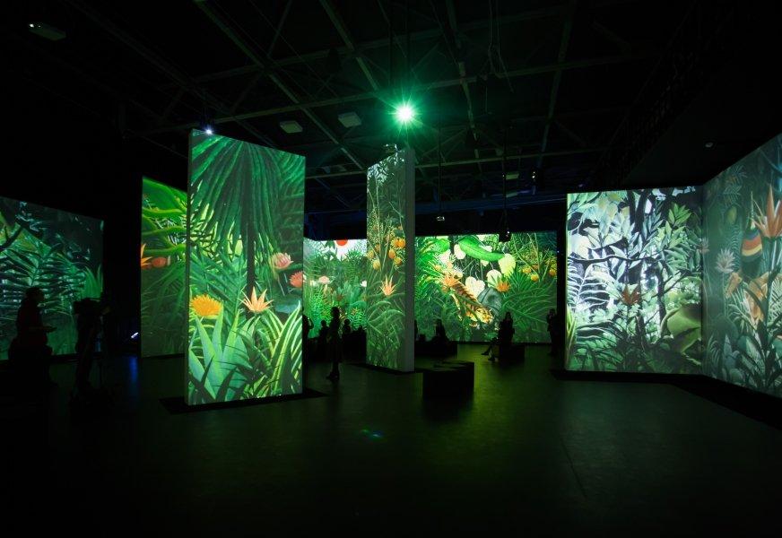 Мультимедийная выставка «От Моне доМалевича. Великие модернисты»