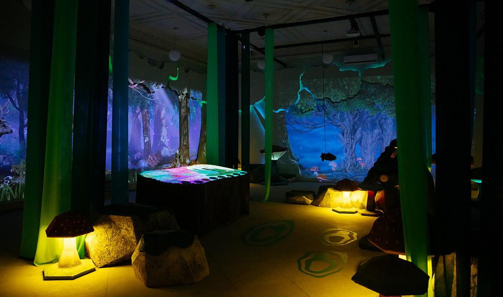 Интерактивное мультимедийное пространство «Лес»
