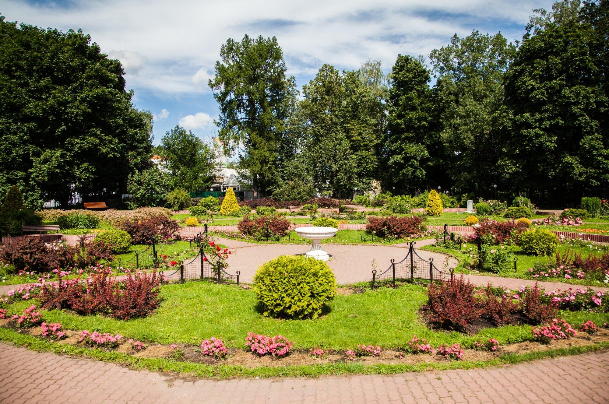 Открытие Малого розария в«Сокольниках» 2016