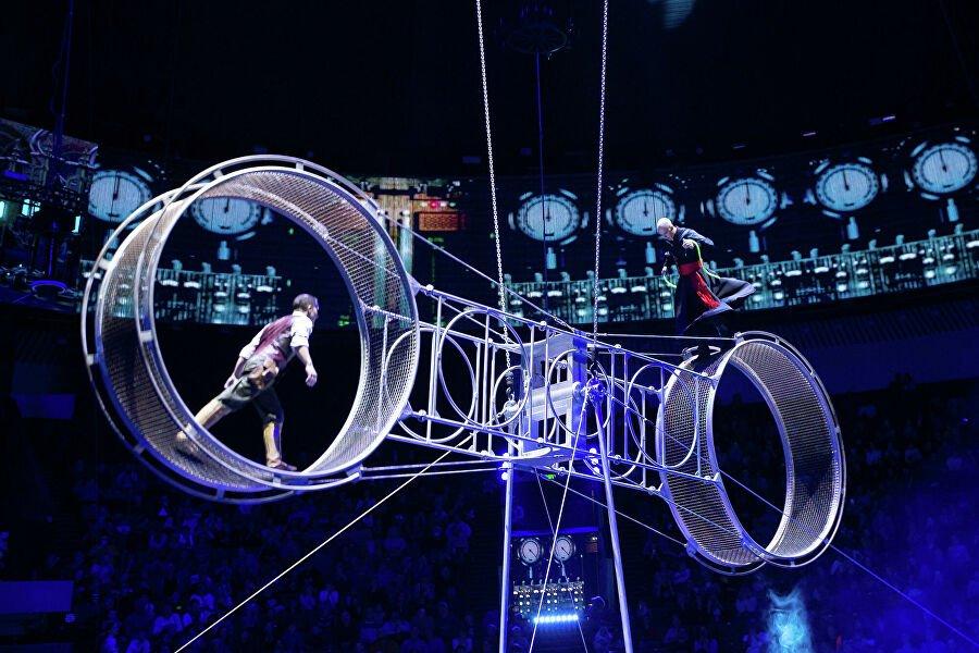 Цирковое шоу помотивам «Раз, два... четыре, пять» 2020