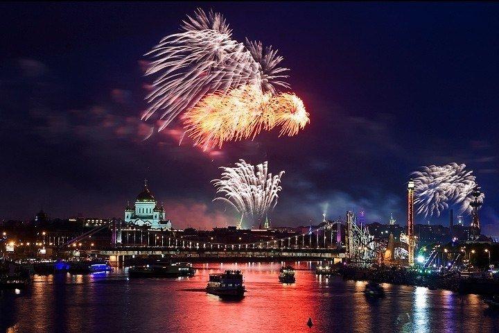 Фестиваль фейерверков вМоскве 2015