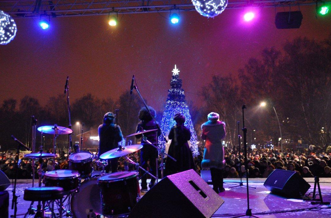 Новогодняя ночь впарке «Кузьминки» 2017