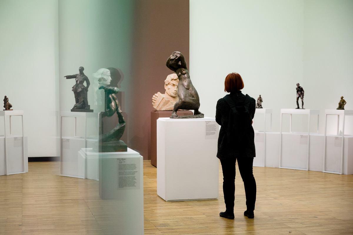 Выставка «Ветер революции. Скульптура 1918— начала 1930»