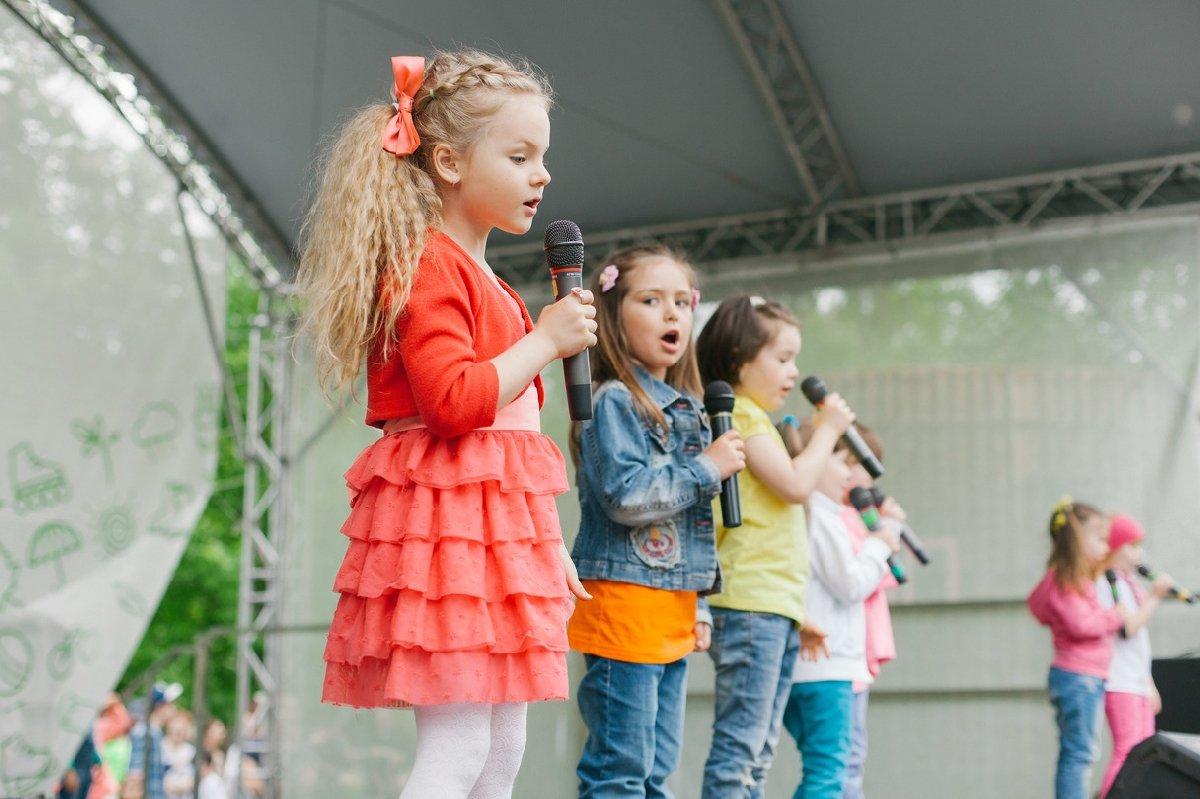 День защиты детей вПеровском парке 2018
