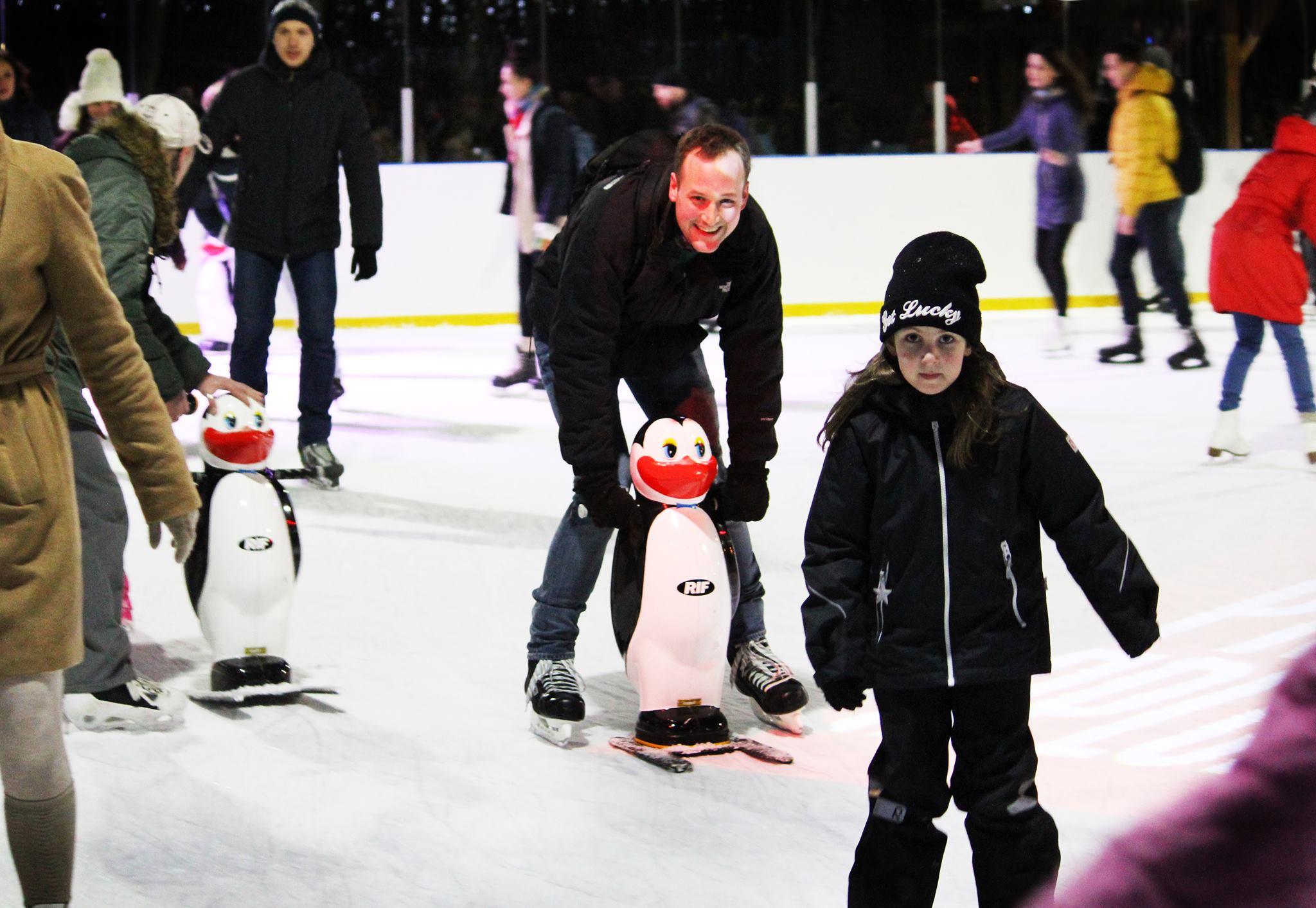 Открытие зимнего сезона впарке «Красная Пресня» 2016