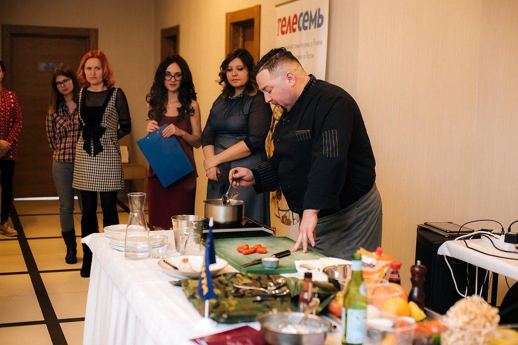 Кулинарный мастер-класс «Итальянская кухня»