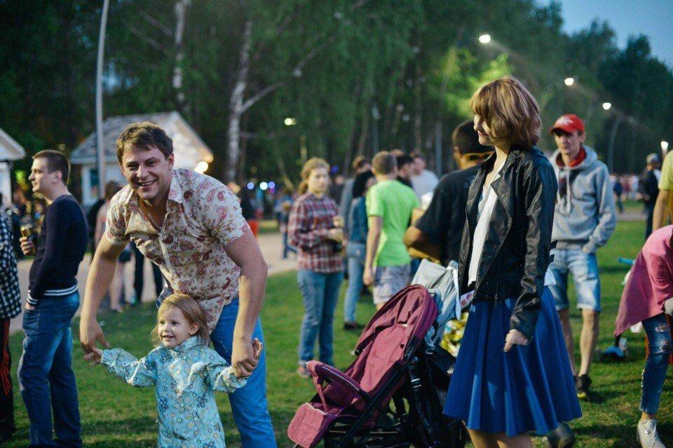 День семьи, любви иверности впарке «Кузьминки» 2017