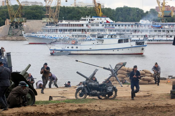 День военно-морского флота впарке «Северное Тушино»