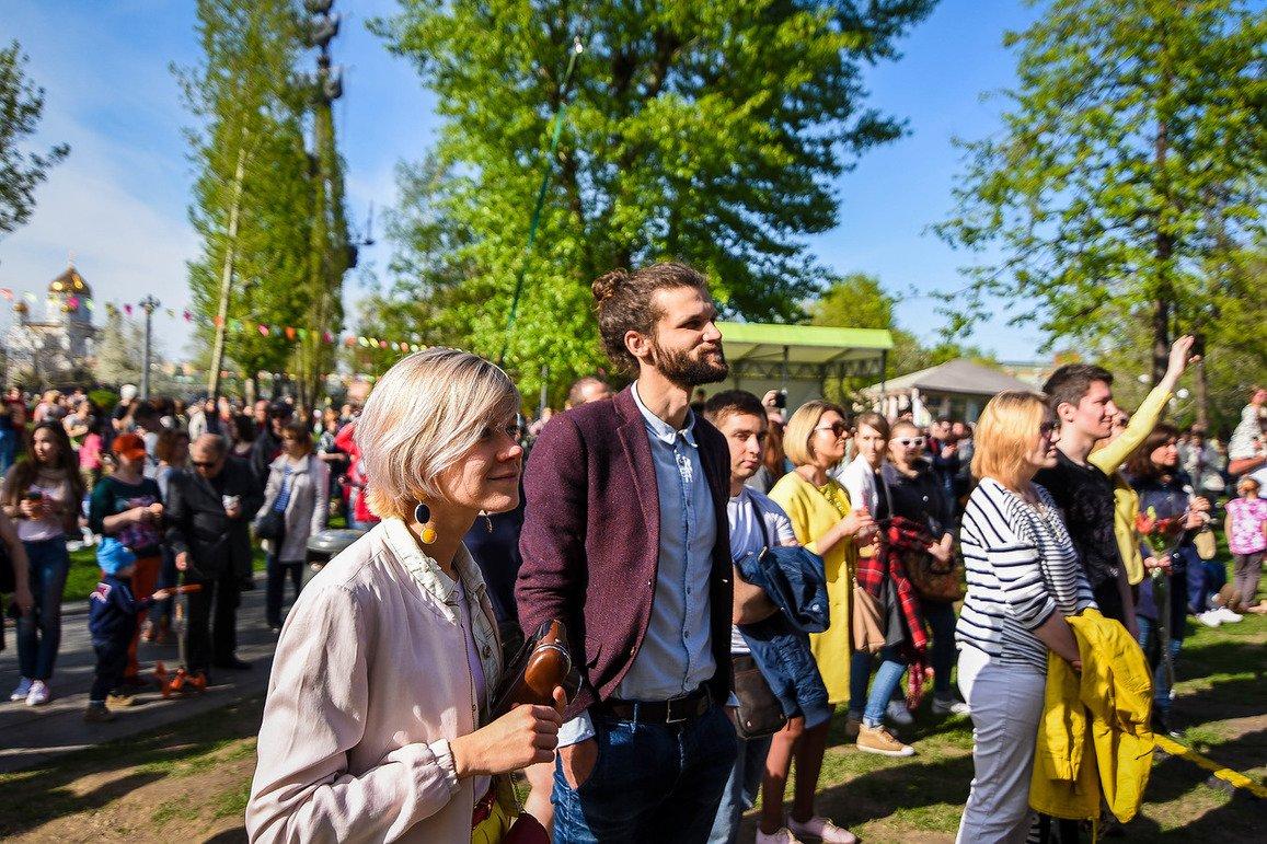 Открытие летнего сезона впарках Москвы 2019