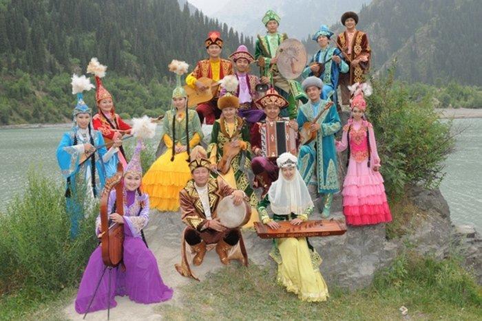 Концерт кыргызской музыки наВДНХ