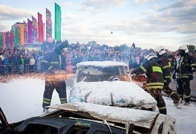 День защитника Отечества впарках Москвы 2016