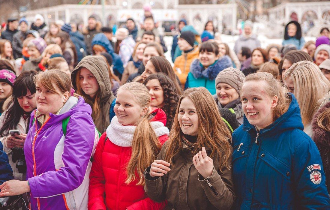 Международный женский день впарке «Сокольники» 2019