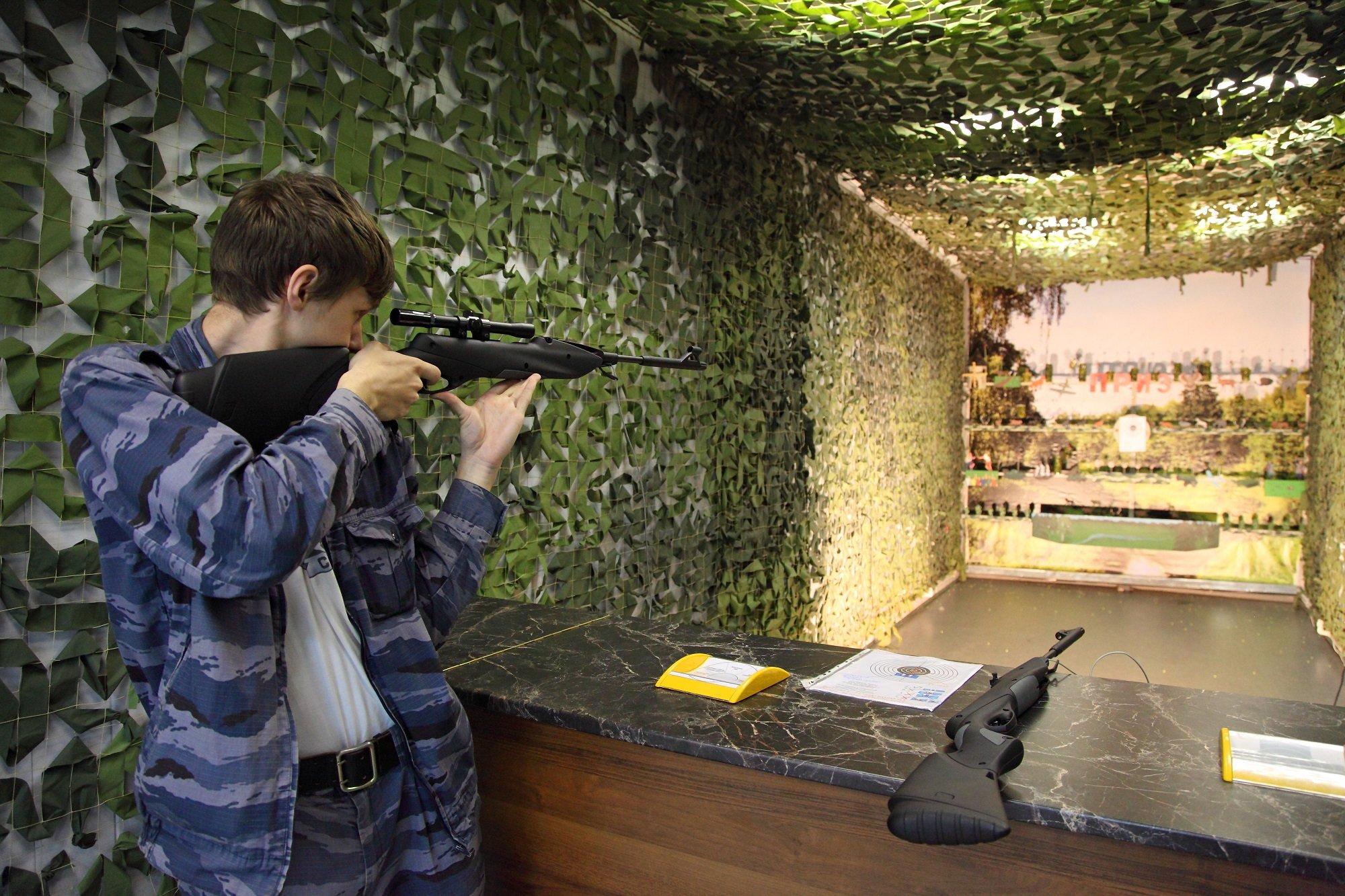 Соревнования пострельбе изпневматической винтовки «Цель-2016»