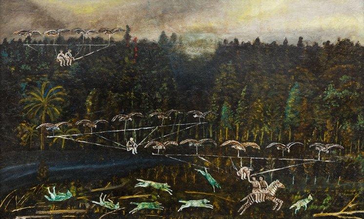 Выставка «Зазеркалье Павла Леонова»