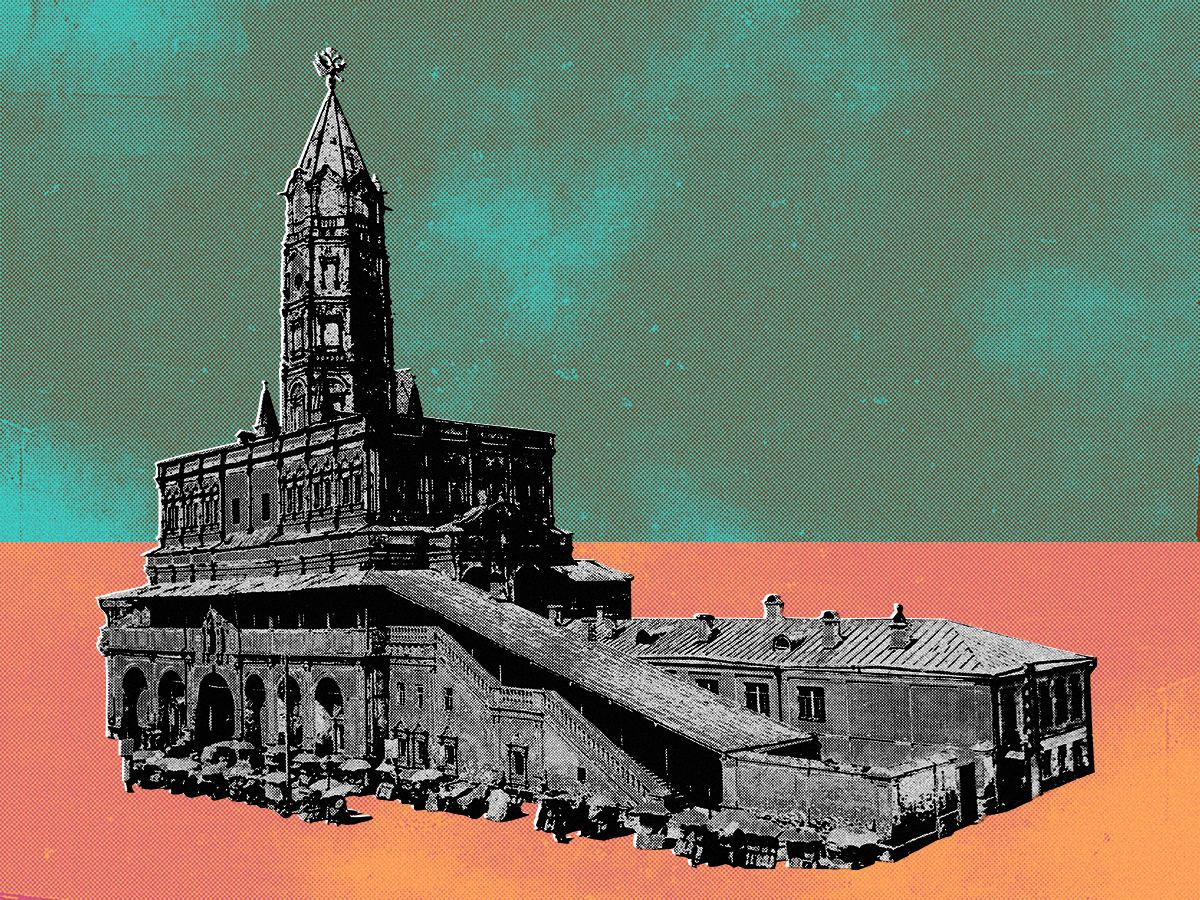 Выставка «Миф оСухаревой башне»