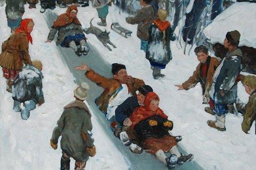 Выставка «Русская зима»